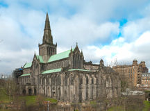 Glasgow Cathedral. Also known as the High Kirk of Glasgow or St Kentigern or St Mungo Royalty Free Stock Image