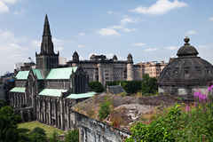 Glasgow Cathedral. Photographie stock