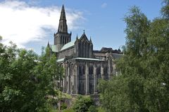 Glasgow Cathedral Royalty-vrije Stock Foto