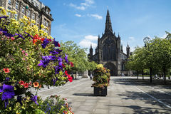 Glasgow Cathedral Royaltyfri Fotografi