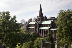 Glasgow Cathedral Royaltyfria Foton