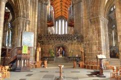 Glasgow cathedral aka High Kirk of Glasgow or St Kentigern or St Mungo Royalty Free Stock Photos