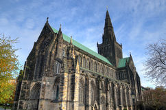 Glasgow cathedral aka High Kirk of Glasgow or St Kentigern or St Mungo Stock Photography