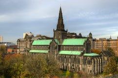 Glasgow cathedral aka High Kirk of Glasgow or St Kentigern or St Mungo Stock Photos