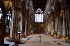 Glasgow cathedral aka High Kirk of Glasgow or St Kentigern or St Mungo Royalty Free Stock Photos