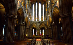 Glasgow cathedral aka High Kirk of Glasgow or St Kentigern or St Mungo Royalty Free Stock Image