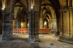 Glasgow cathedral aka High Kirk of Glasgow or St Kentigern or St Mungo Royalty Free Stock Images