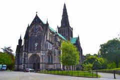 Glasgow Cathedral eller höga Kirk av Glasgow eller för St Kentigern ` s eller Royaltyfri Foto