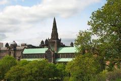 Glasgow Cathedral i Skottland, Förenade kungariket arkivbild