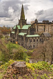 Glasgow Cathedral From The Necropolis Stock Photos