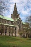 Glasgow Cathedral op een koude duidelijke ochtend stock afbeelding