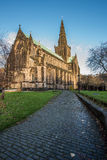 Glasgow Cathedral pathway Royalty Free Stock Photos