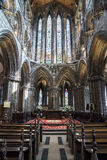 Glasgow Cathedral. A picture of the cathedral of Glasgow in Scotland Stock Images
