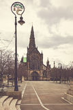 Glasgow cathedral Scotland Stock Photography