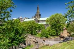 Glasgow cathedral, Scotland royalty free stock photo
