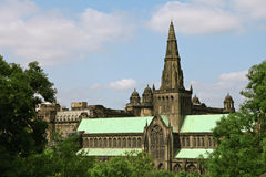 Glasgow Cathedral. Royalty Free Stock Images