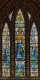 Glasgow Cathedral Stained Glass Window Royalty Free Stock Images