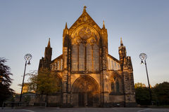 Glasgow Cathedral at Sunset Royalty Free Stock Image