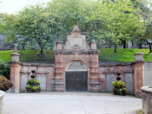 Glasgow cemetery Royalty Free Stock Photo