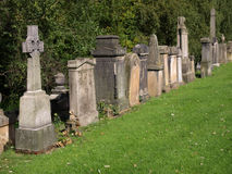 Glasgow cemetery Stock Photo
