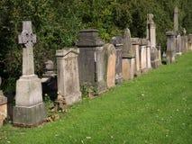 Glasgow cemetery Stock Photo