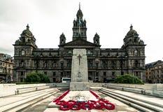 Glasgow Cenotaph Imagens de Stock Royalty Free
