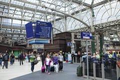 Glasgow Central Station Stock Photo