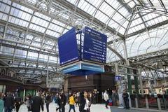 Glasgow centrali stacja Obraz Royalty Free