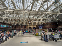 Glasgow centrali stacja Zdjęcie Royalty Free