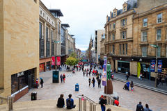 Glasgow city center Stock Images