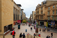 Glasgow city center Stock Image