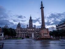 Glasgow City Chambers Fotografia Stock Libera da Diritti