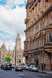 Glasgow City Chambers em George Square em Glasgow fotos de stock royalty free