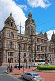 Glasgow City Chambers on George Square of Glasgow Stock Photography