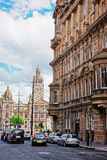 Glasgow City Chambers on George Square in Glasgow Royalty Free Stock Photos