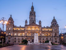 Glasgow City Chambers Stock Photography