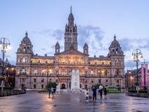 Glasgow City Chambers, Glasgow Stockbilder