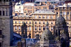 Glasgow City Chambers royalty free stock photography