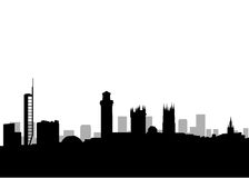 Glasgow city skyline Royalty Free Stock Photo