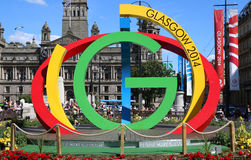 Glasgow Common Wealth Games 2014 Immagine Stock Libera da Diritti