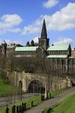 Glasgow domkyrka Skottland, UK Royaltyfria Foton