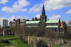 Glasgow domkyrka Skottland, UK Royaltyfri Foto