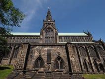 Glasgow domkyrkakyrka Fotografering för Bildbyråer