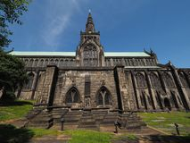 Glasgow domkyrkakyrka Royaltyfri Foto