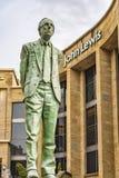 Glasgow Donald Dewar Statue Arkivfoto
