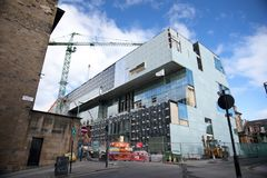 Glasgow, Ecosse, R-U, septembre 2013, Glasgow School de Charles Rennie Mackintosh d'art avant le feu d?sastreux qui photo stock