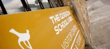 Glasgow, Ecosse, R-U, septembre 2013, Glasgow School de Charles Rennie Mackintosh d'art avant le feu d?sastreux qui image stock