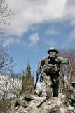 Glasgow, el monumento de la guerra en Kelvingrove imagen de archivo