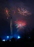 Glasgow Fireworks 2014 Stock Photography