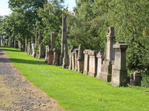 Glasgow-Friedhof Lizenzfreie Stockfotos